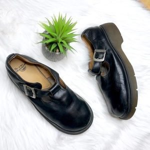 Dr. Martens Black Leather Mary Jane's